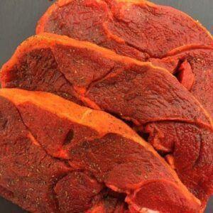 10 x 8oz minted lamb leg steaks