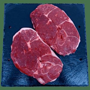 4 x 8oz leag lamb steaks
